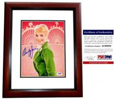 Shirley Jones Signed - Autographed The Partridge Family 8x10 inch Photo with PSA/DNA Certificate of Authenticity (COA) MAHOGANY CUSTOM FRAME