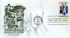 Shirley Jones Signed Jsa Cert Sticker Fdc Authentic Autograph