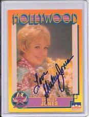 Shirley Jones Signed Starline Hollywood card