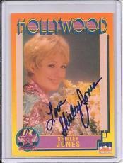 Shirley Jones Signed Starline Hollywood card