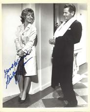 "SHIRLEY JONES - Starred In Musicals ""OKLAHOMA"", ""CAROUSEL"" and ""THE MUSIC MAN"" Also SHIRLEY PARTRIDGE in TV Series ""THE PARTRIDGE FAMILY"" Signed 8x10 B/W Photo"