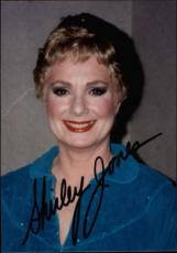 Shirley Jones The Partridge Family Mom Signed Small Photo  2.5 X 3.5 Id #32480