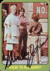 Shirley Jones The Partridge Family Mom Signed Trading Card 1971 Topps #14b Id #3