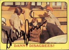 Shirley Jones The Partridge Family Mom Signed Trading Card 1971 Topps #19 Id #32