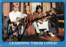 Shirley Jones The Partridge Family Mom Signed Trading Card 1971 Topps #24a Id #3