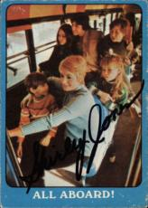 Shirley Jones The Partridge Family Mom Signed Trading Card 1971 Topps #27a Id #3