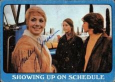 Shirley Jones The Partridge Family Mom Signed Trading Card 1971 Topps #28a Id #3