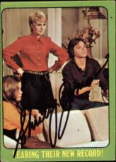 Shirley Jones The Partridge Family Mom Signed Trading Card 1971 Topps #28b Id #3