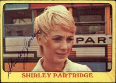 Shirley Jones The Partridge Family Mom Signed Trading Card 1971 Topps #30 Id #32