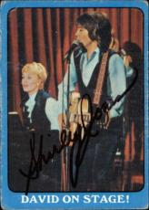 Shirley Jones The Partridge Family Mom Signed Trading Card 1971 Topps #30a Id #3