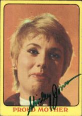 Shirley Jones The Partridge Family Mom Signed Trading Card 1971 Topps #35 Id #32