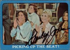 Shirley Jones The Partridge Family Mom Signed Trading Card 1971 Topps #41a Id #3