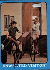 Shirley Jones The Partridge Family Mom Signed Trading Card 1971 Topps #44a Id #3
