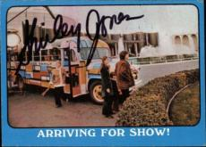 Shirley Jones The Partridge Family Mom Signed Trading Card 1971 Topps #48a Id #3