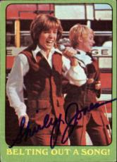 Shirley Jones The Partridge Family Mom Signed Trading Card 1971 Topps #48b Id #3