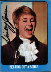 Shirley Jones The Partridge Family Mom Signed Trading Card 1971 Topps #4a Id #32