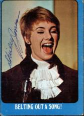 Shirley Jones The Partridge Family Mom Signed Trading Card 1971 Topps #4a Pen Id