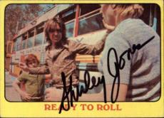 Shirley Jones The Partridge Family Mom Signed Trading Card 1971 Topps #50 Id #32