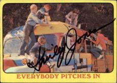 Shirley Jones The Partridge Family Mom Signed Trading Card 1971 Topps #53  Id #3
