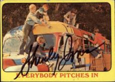 Shirley Jones The Partridge Family Mom Signed Trading Card 1971 Topps #53 Id #32