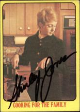 Shirley Jones The Partridge Family Mom Signed Trading Card 1971 Topps #55 Id #32