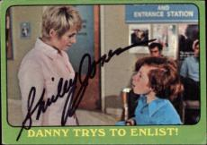 Shirley Jones The Partridge Family Mom Signed Trading Card 1971 Topps #5b Id #32