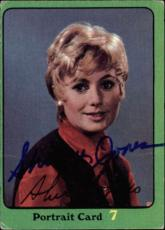 Shirley Jones The Partridge Family Mom Signed Trading Card 1971 Topps #61b Id #3