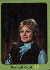 Shirley Jones The Partridge Family Mom Signed Trading Card 1971 Topps #67b Id #3