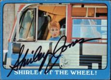 Shirley Jones The Partridge Family Mom Signed Trading Card 1971 Topps #6a Id #32