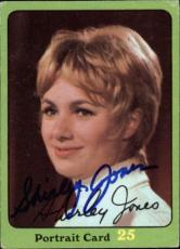 Shirley Jones The Partridge Family Mom Signed Trading Card 1971 Topps #78b Id #3