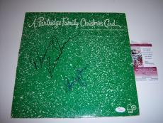 Shirley Jones,danny Bonaduce The Partridge Family Jsa/coa Signed Lp Record Album