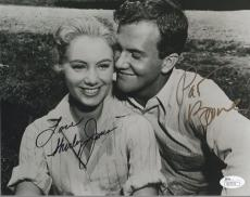 SHIRLEY JONES+PAT BOONE HAND SIGNED 8x10 PHOTO    SIGNED BY BOTH LEGENDS     JSA