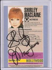 Shirley Maclaine Signed Starline Hollywood card