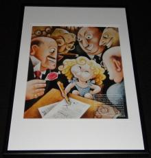 Shirley Temple 1934 Framed 12x18 Photo Display