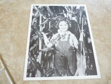 Shirley Temple Black 1983 Signed Autographed 8x10 Promo Photo