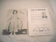Shirley Temple Black Signed Autographed 8x10  Photo PSA Certified