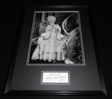 Shirley Temple Black Signed Framed 16x20 Photo Poster Display