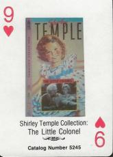 Shirley Temple RARE 1988 CBS Fox Promotional Playing Card Little Colonel