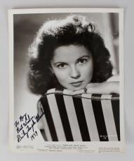 Shirley Temple Signed & Inscribed 8×10 Photo – JSA