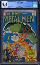 Showcase #37 Cgc 9.4 White 1st App Metal Men Single Highest Graded #0302668006