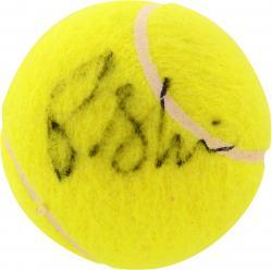 Pam Shriver Autographed Tennis Ball