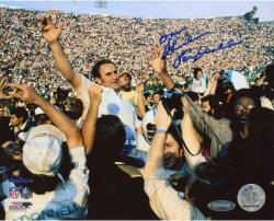 Don Shula Miami Dolphins Autographed 8'' x 10'' Hands Open Photograph with Perfection inscription