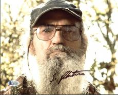 Si Robertson Duck Dynasty Signed 8x10 Photo Autographed BAS #C63209