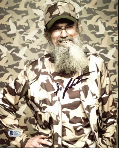 Si Robertson Duck Dynasty Signed 8x10 Photo Autographed BAS #C63210