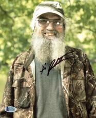 Si Robertson Duck Dynasty Signed 8x10 Photo Autographed BAS #C63785