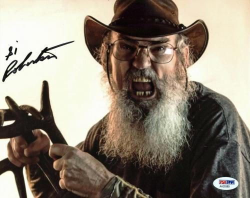 Si Robertson Duck Dynasty Signed 8X10 Photo PSA/DNA #AA20389