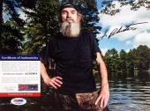 Si Robertson Duck Dynasty Signed Autographed 8x10 Photo PSA/DNA AC63904