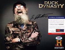 Si Robertson Duck Dynasty Signed Autographed 8x10 Photo PSA/DNA AC63905