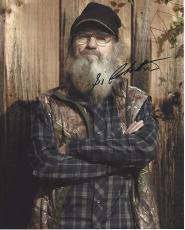 "SI ROBERTSON - Referred to as UNCLE SI on A&E's ""DUCK DYNASTY"" Signed 8x10 Color Photo"