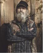 """SI ROBERTSON - Referred to as UNCLE SI on A&E's """"DUCK DYNASTY"""" Signed 8x10 Color Photo"""